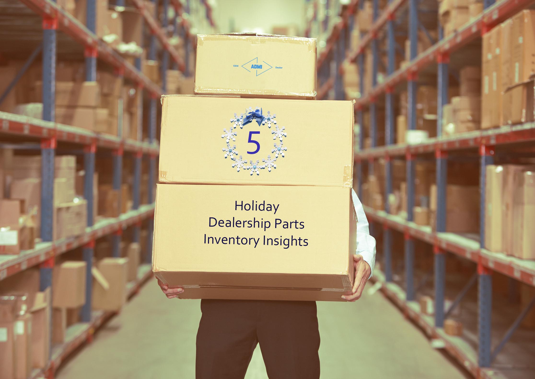 ADMI's5HolidayDealership Parts InventoryInsights